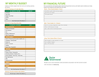 JA Teen Budgeting Income and Spending Worksheets image
